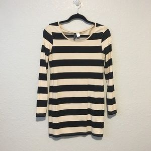 H&M Divided Striped Bodycon Dress